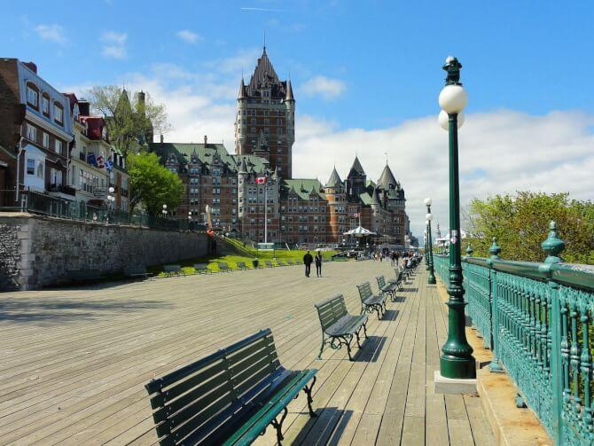 Top 20 things to do in Quebec City: Terrasse Dufferin