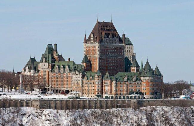Top 20 things to do in Quebec City: Château Frontenac