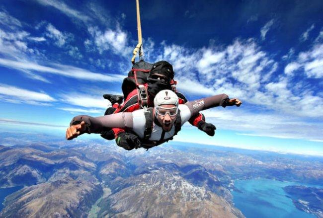 Top 20 things to do in Queenstown: Skydiving