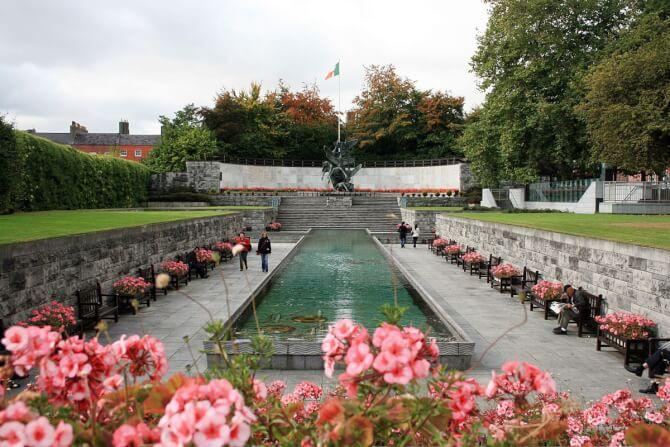 Top 20 things to do in Dublin: Garden of Remembrance
