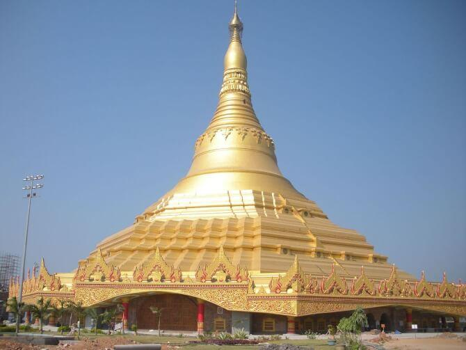 Top 20 things to do in Mumbai: Global Vipassana Pagoda