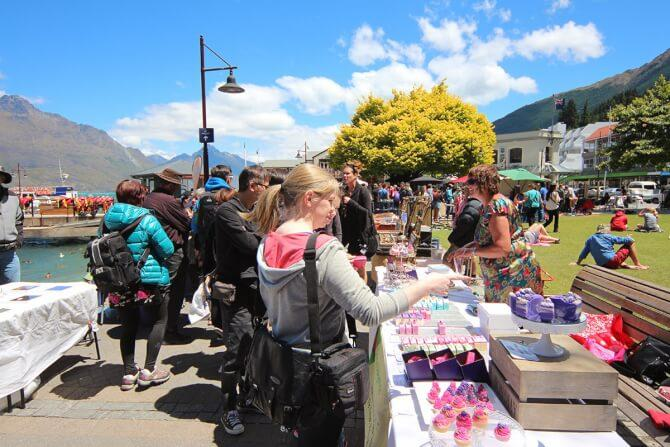 Top 20 things to do in Queenstown: Queenstown Arts and Crafts Markets