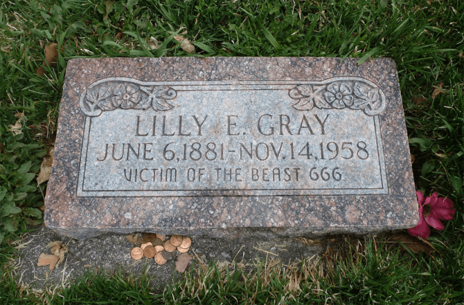 Top 20 things to do in Salt Lake City: Victim of the Beast Gravestone